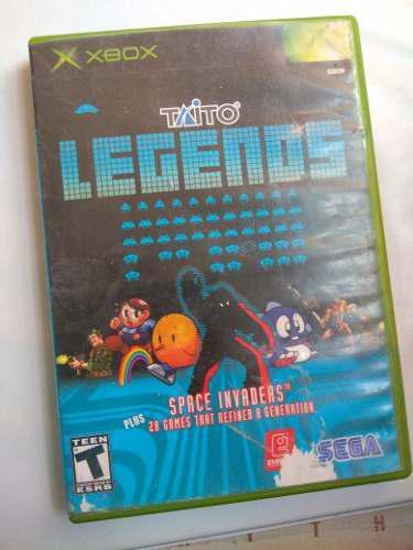 Taito Legends Xbox Clasico