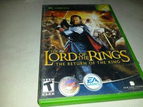 The Lord Of The Rings The Return Of The King Xbox Clasico