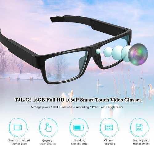 Tjl-g2 16gb 1080p Completo Hd Mini Videocámara Inteligente