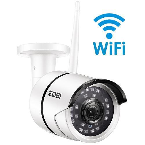 Videocámara Vigilancia Externa Wifi Ip Zosi 1080p