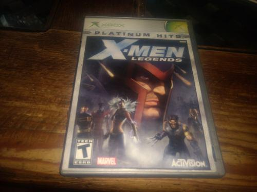 X Men Legends Xbox Clasico Usado Funciona Bien