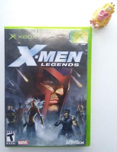 X Men Legends Xbox Clásico