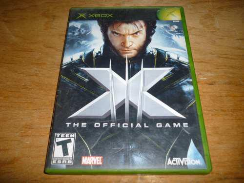 X Men The Official Game Xbox Clasico