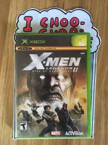 X-men 2 Legends Rise Of Apocalypse Xbox Clásico Xmen Ii