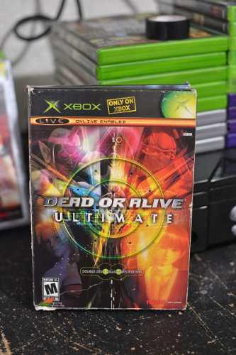 Xbox Clasico Dead Or Alive Ultimate Double Disc Collector´s