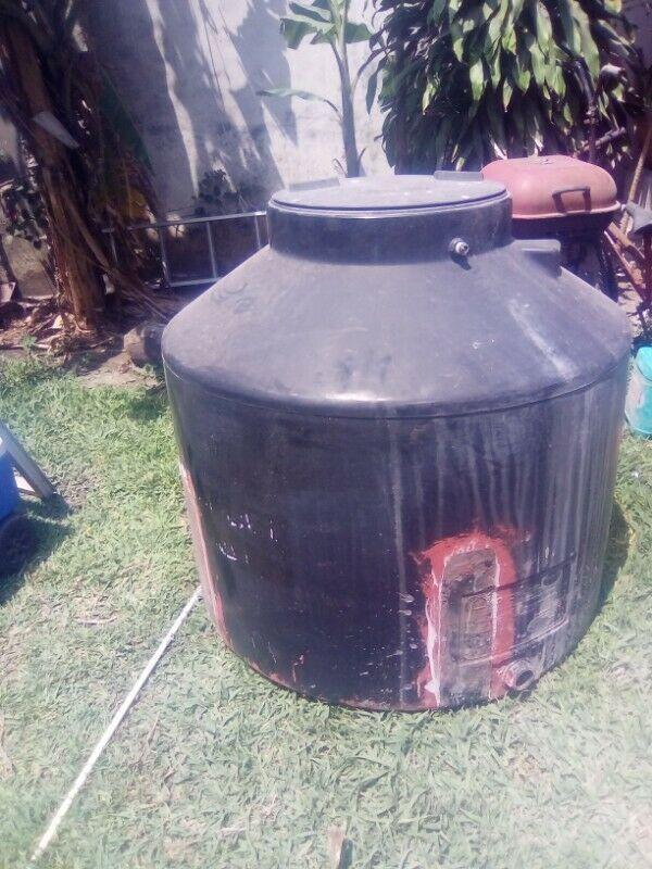 tanque para agua rotoplas usado 750 lt remato