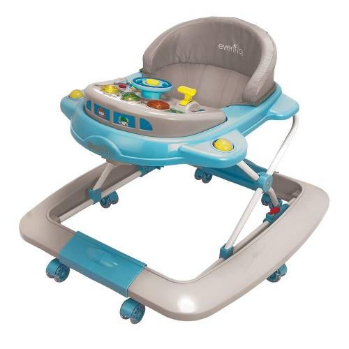 Andadera Mecedora Rocket Roy Blue Para Bebé Evenflo Nuevo