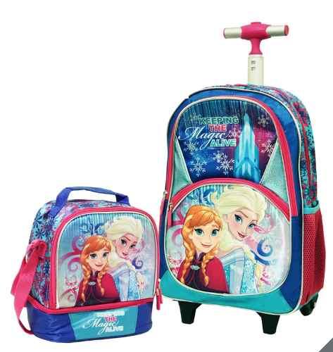 Backpack + Lonchera Frozen Disney Ruz