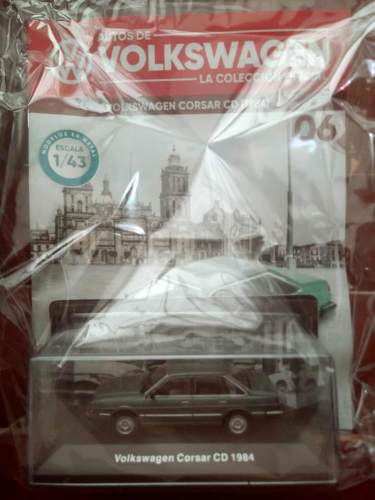 Colección Volkswagen Planeta #6 Corsar Cd ()