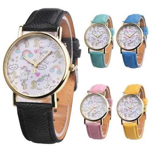 Reloj De Unicornio Mujer Y Niña + Regalos + Precio Mayoreo