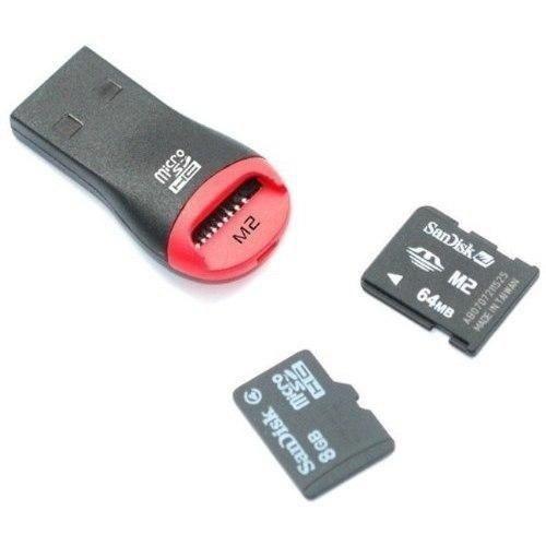 10 Piezas Adaptador Micro Sd A Usb 2.0 Multi Lector