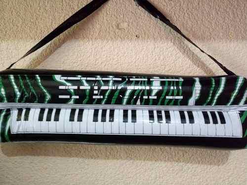 25 Teclado Piano Inflable Plastico Grande Batucada Fiesta
