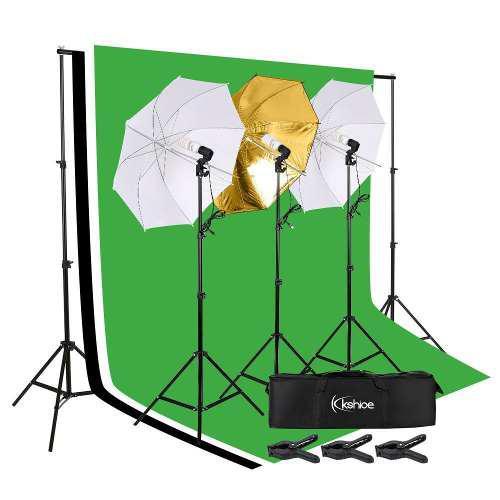 26 Piezas- Kit Estudio Fotográfico Set Fotografía Kshioe