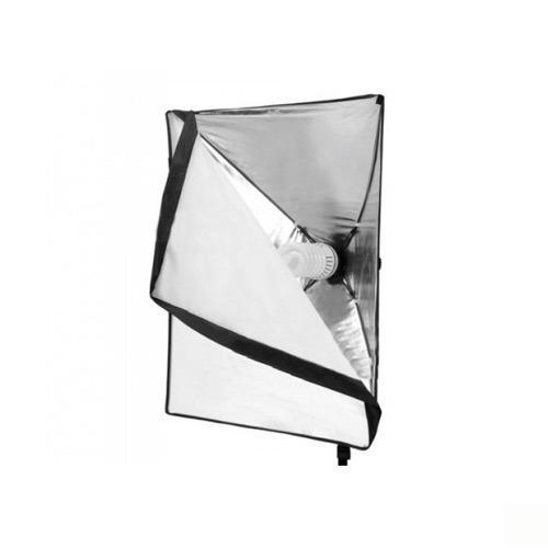 Caja Suavizadora De Luz Softbox De 50 X 70cm Con Socket
