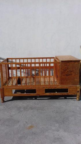 Cama Cuna De Madera Para Bebes