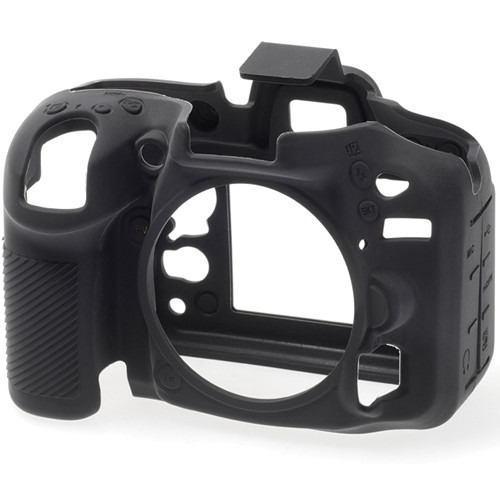 Easycover Funda Para Cámara Nikon D7100 / D7200 (negra)