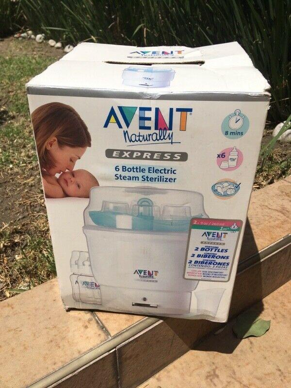 Esterilizador de mamilas eléctrico Avent (6 mamilas)