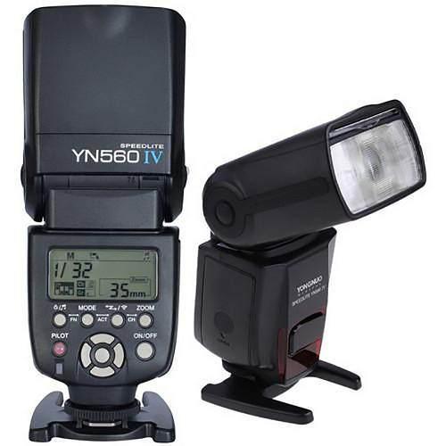 Flash Yongnuo 560iv Con Receptor Integrado Y Modo Maestro