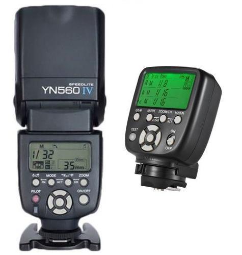 Kit Flash Yn 560 Iv Controlador Yn 560 Tx Ii Nueva Versión