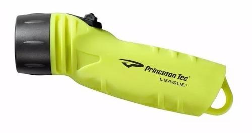 Lmpara League Princeton Tec Buceo Y Apnea 300 Lumens Amaril