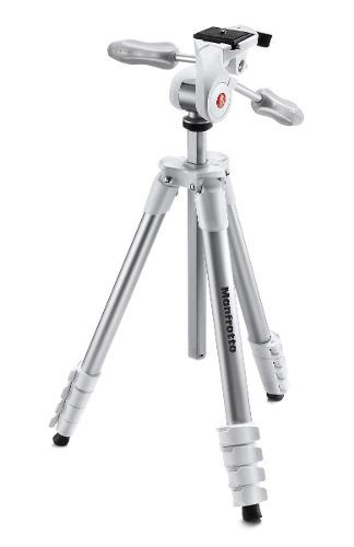 Manfrotto Mkcompactadv-wh Tripie Con Cabeza Compact Advanced