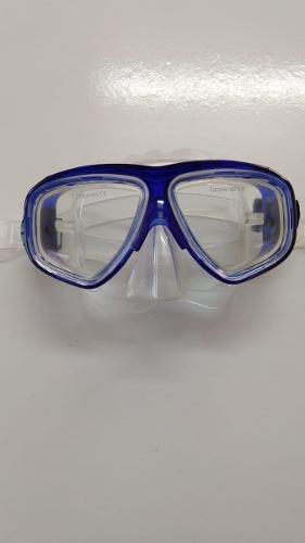 Mascara Escualo Modelo M10 Azul