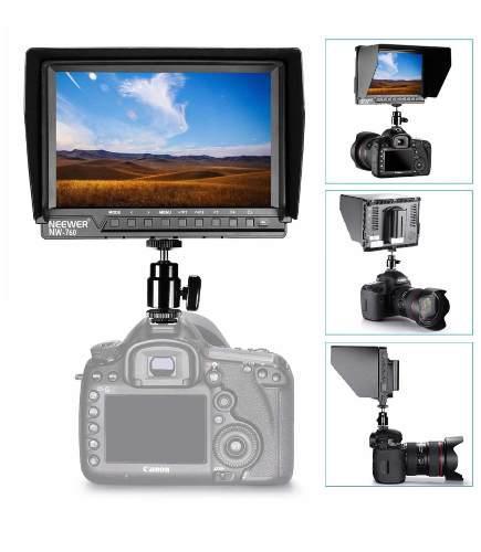 Monitor Camara Video Soporte 4k Dslr Full Hd 1920 X 1200
