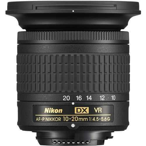 Nikon Af-p Dx Nikkor 10-20mm F/4.5-5.6g Vr - (ml)