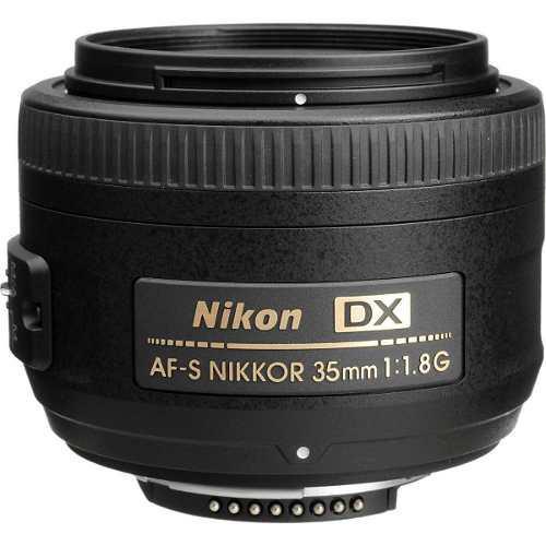 Nikon Af-s Dx Nikkor 35mm F/1.8gnuevo