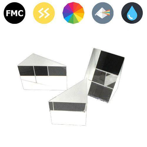 Prisma Triangular - Vidrio Optico K9 - 10mm