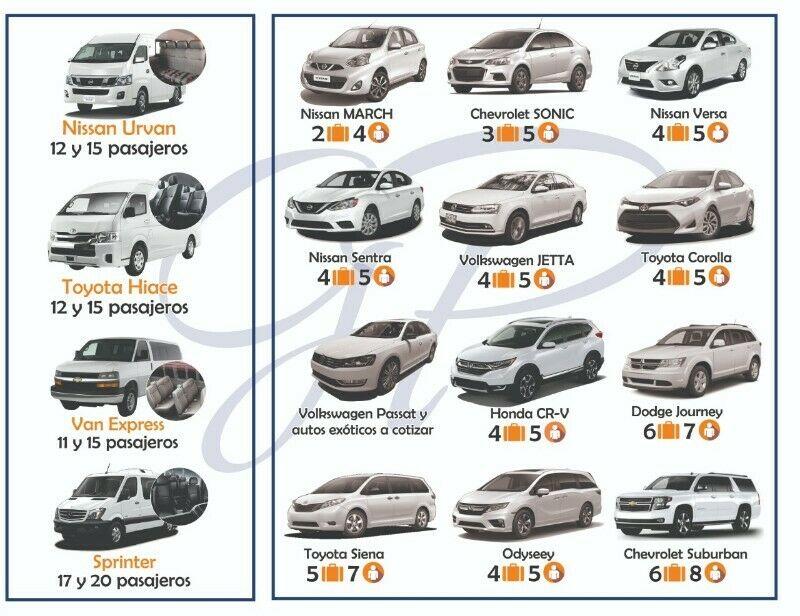 Renta de Camionetas y Vehiculos