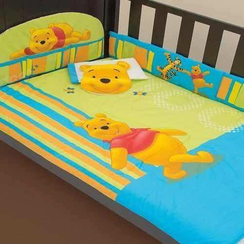 Set De Edredón De Bebé Para Cuna Winnie The Pooh