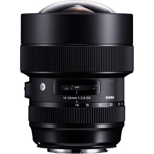 Sigma Lente 14-24mm F2.8 Dg Hsm Art Para Canon (msi)