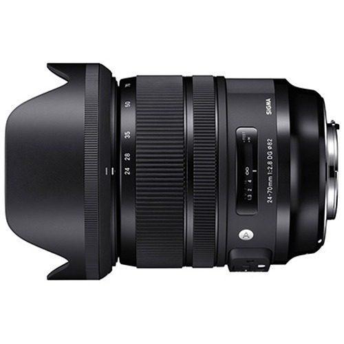 Sigma Lente 24-70mm F2.8 Dg Os Hsm Art P/canon (msi)