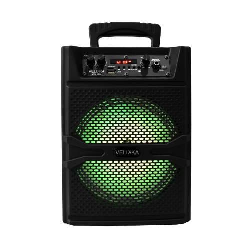 Bafles Bocina Amplificados Bluetooth 8 Pulgadas 185l Velikka