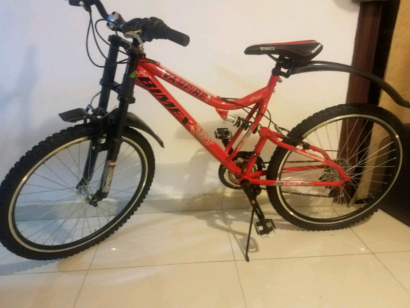 Bicicleta de montaña rodada 26