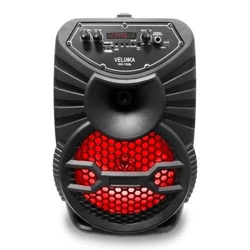 Bocina Bluetooth 8 Pulgadas Memoria Usb Vkk-l Full