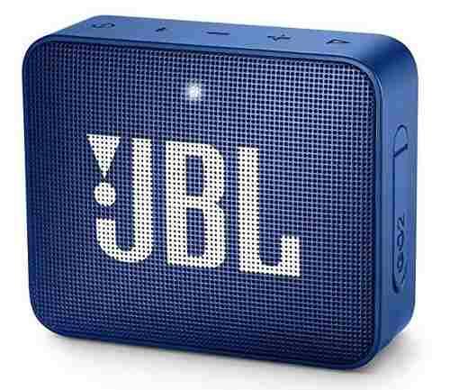 Bocina Bluetooth Jbl Go 2 Azul Metal A Prueba De Agua