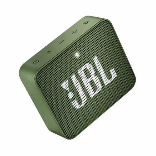 Bocina Jbl Go 2 Bluetooth Verde Metalica A Prueba De Agua