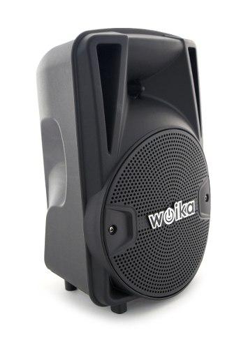 Bocinas Bafles Amplificados 8 Pulgadas Bluetooth Usb Woika