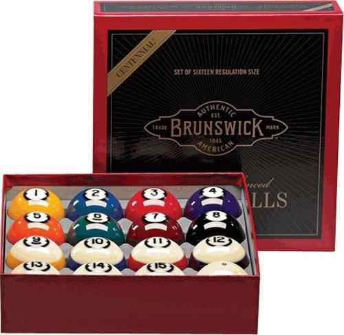 Brunswick Centennial Bolas De Billar