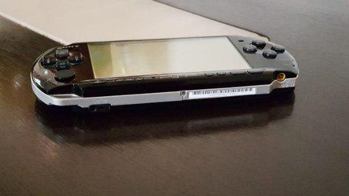 Consola Sony Psp Slim Negro Piano Playstation 100% Funcional