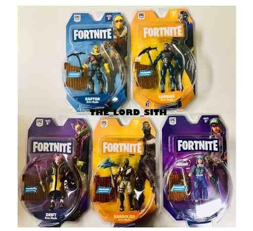 Fortnite Coleccion De 5 Figuras Solo Mode Nuevas Dificiles