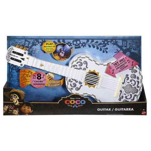 Guitarra De Coco Eletronica Disney Luz Y Sonido Mattel