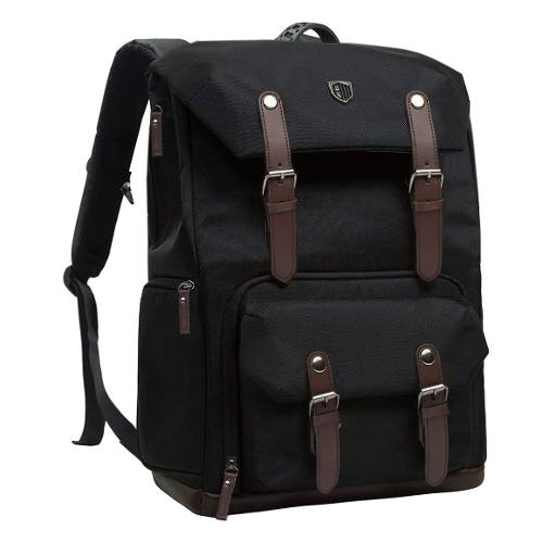 Mochila Camara Reflex Slr/dslr Viajera Laptop Impermeable Bm