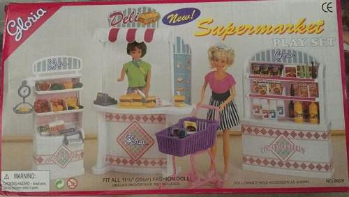 Mueble Para Casa De Muñeca Barbie Supermercado