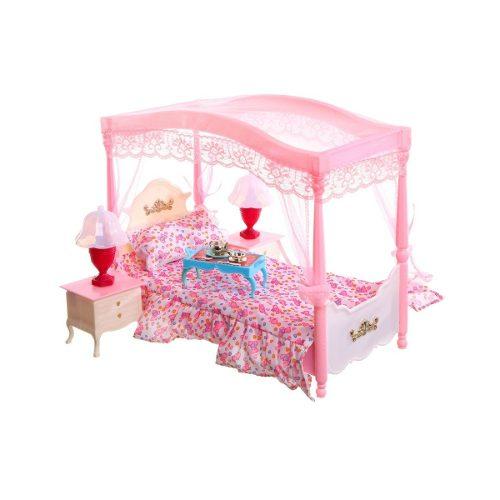 Mueble Para Casa Muñeca Barbie Recamara Elegante  Full