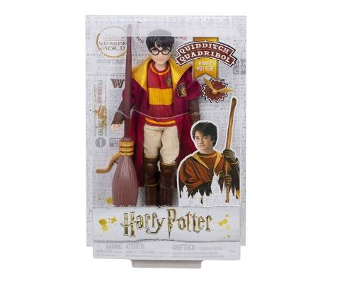 Muñeco Harry Potter Quidditch Mattel