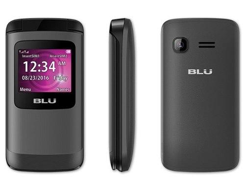 Nuevo Blu Zoey Flex Z131 Telefono Celular Flip Barato Basico