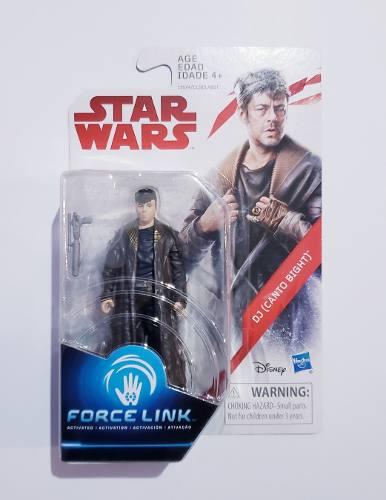 Oferta Muñeco Star Wars Force Link De Dj Canto Bight !!